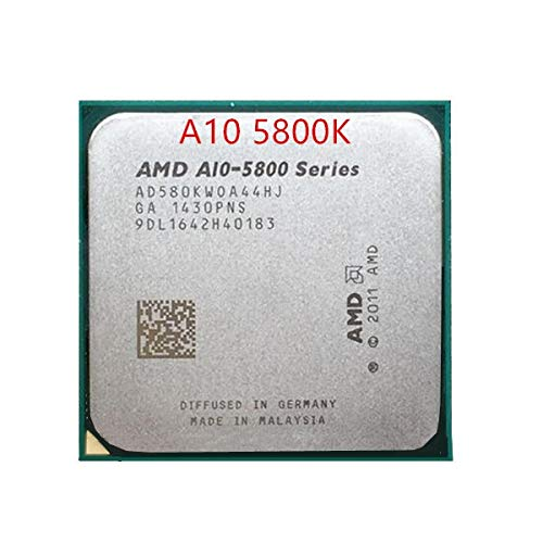 A10-5800K A10 5800K CPU Processor 3.8GHz FM2 AD580KWOA44HJ 100W 32nm Quad Core Desktop CPU