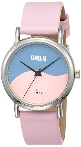 Gully by Timex Swirl Analog White Dial Women's Watch-TW000U608