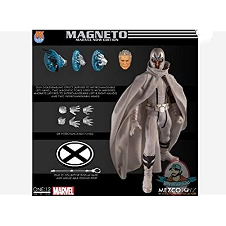 The One:12 Collective Marvel PX Magneto Marvel Now Edition by Mezco