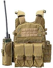 Tactisch vest, lichtgewicht multifunctioneel tactisch vest