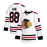 NHICR KȧNE BLȧċKHȧWKṡ Hockey Jerseys Sportswear De Manga Larga Sudaderas Fan Camisetas Tirador, Ejercicio De Bordado Tops De Fitness # 88 Equipo De Hockey Juego Jersey Com XL