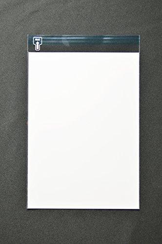 印刷透明封筒 B5(角4) 【500枚】 OPP 50μ(0.05mm) 表:白ベタ 切手/筆記可 静電気防止処理テープ付き 折線付き 横195×縦270+フタ30mm印刷可