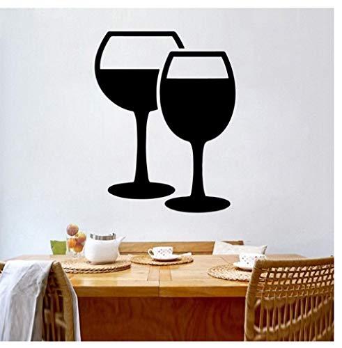 Rode wijn milieuvriendelijke vinyl sticker verwijderbare muursticker slaapkamer kleuterschool decoraties 30 cm x 38 cm Zkpyy