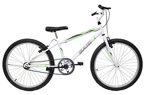 Bicicleta Aro 24 Masculina Mono Sem Marcha Saidx (Branco)
