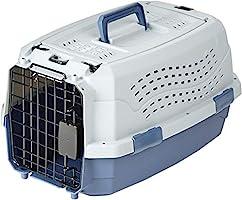 Amazon Basics Caisse de transport pour animal domestique 2portes dont 1sur le dessus 48cm