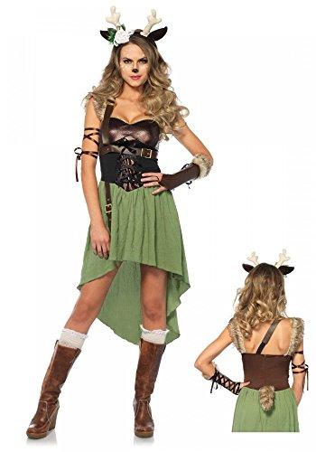 shoperama Bosque Kitz Disfraz para Mujer De Leg Avenue–Cervatillo Kitz Bambi Ciervo Reno