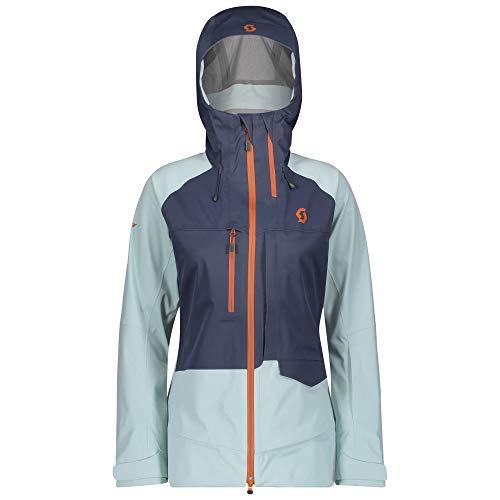 Scott Damen Vertic 3L Skijacke blau XS