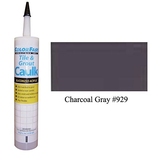 TEC Color Matched Caulk by Colorfast (Sanded) (929 Charcoal Gray)