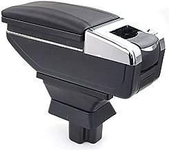 for Mazda 2 Sedan 2008-2013 Mazda 3 2015-2016 Car Armrest Accessories Centre Console Storage Box Arm Rest Black