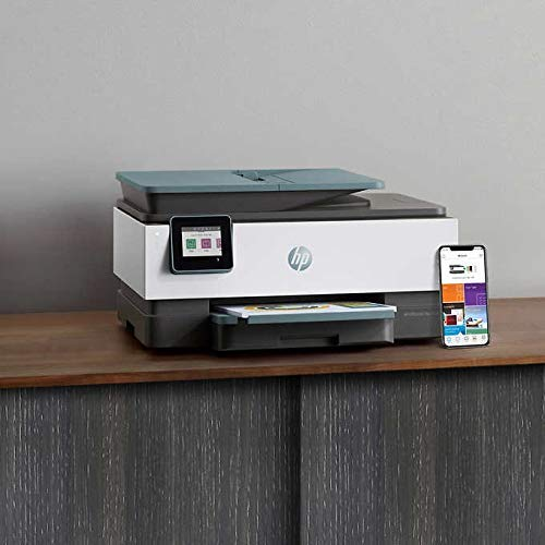HP Officejet Pro 8028 All-in-One Printer, Scan, Copy, Fax, Wi-Fi and Cloud-Based Wireless Printing (3UC64A) (Renewed) Photo #3