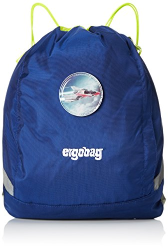 ERGOBAG cubo Sportspack 16 Turnbeutel, 45 cm, 11 L, Blue