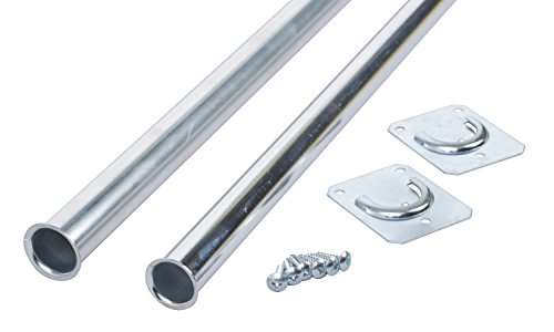 Closet Pro CD-0024-18/30ZC Heavy Duty Adjustable Rod, 18 by 30-Inch, Zinc Plated