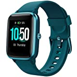 YAMAY Smart Watch Fitness Tracker Watches for Men Women, Heart Rate Monitor IP68 Waterproof Digital Watch with Step Sleep Tracker Call Message Alerts,Smartwatch Compatible iPhone Android Phones Green