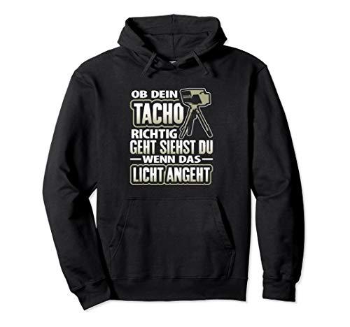 Tacho | Tuner Tuning Autofahren Witz Geschenk Spruch Pullover Hoodie
