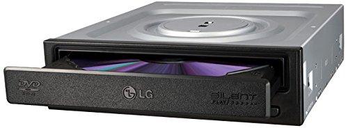 LG DH18NS50 Eingebaut DVD-ROM Schwarz Optisches Laufwerk - Optische Laufwerke (Schwarz, Ablage, Horizontal, Desktop, DVD-ROM, SATA)