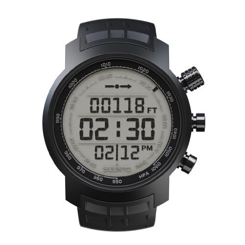 Suunto Elementum Terra P Rubber Watch - Black by Suunto