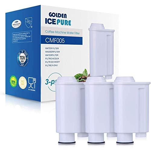 Kaffeemaschine Wasserfilter Ersatz für Saeco CA6702/00 CA6702/10 CA6706/48 brita intenza+ Saeco wasserfilter Philipps 3 Stück von GOLDEN ICEPURE CMF005 (rechnung vorhanden)
