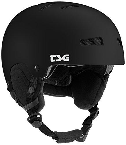 TSG Gravity Solid Color Helm, Satin Black, S/M
