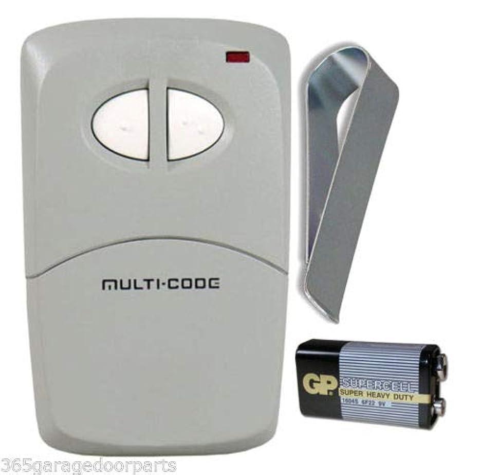 賭け努力する簡単なリニアマルチコード#4120 ゲート/ガレージリモート(MCS412001) 300Mhz。