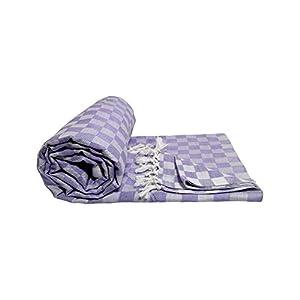 Riyashree Organic Cotton Silky Soft 3D Bhagalpuri Dull chadar Designer Blanket & Duvet ( 52*94 in ) Dull 031 038 GR