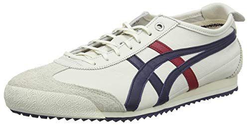 Asics Onitsuka Tiger Mexico 66 SD, Zapatillas Hombre, Multicolor (Cream/Peacoat 101), 40 EU