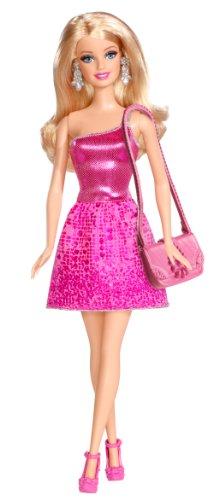 Poupée Barbie Glamour : Tenue de soirée rose