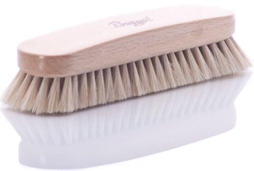 Burgol Burgol Rosshaar-Polierbürste, hell, 22 mm Haarlänge, Handeinzug