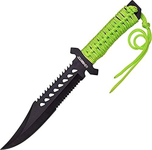 Z-Hunter Fixed Blade Green Cord