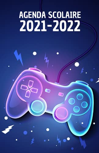 Agenda scolaire 2021 2022: Agenda gaming journalier pour collège et lycée   Organisateur scolaire console de jeux pour planifier et réussir votre ... emploi du temps et calendrier 2021 et 2022