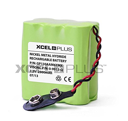 Visonic 2300 mAh Extended Life alarma PowerMax Control Panel batería 0-9913-Q
