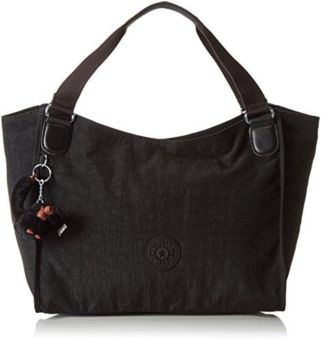 Kipling - Sarande N, Shoppers y bolsos de hombro Mujer, Black, One...