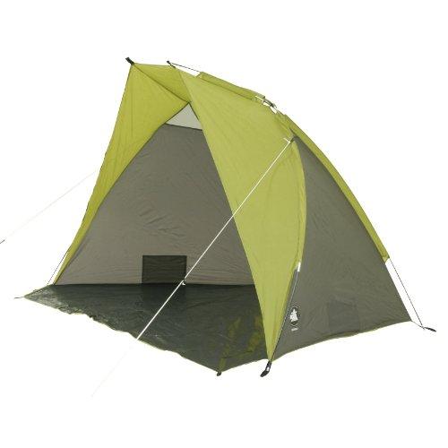 10T Korsika UV40 Strandmuschel Strand-Zelt 240x125x140 cm Windschutz Sichtschutz Sonnenschutz