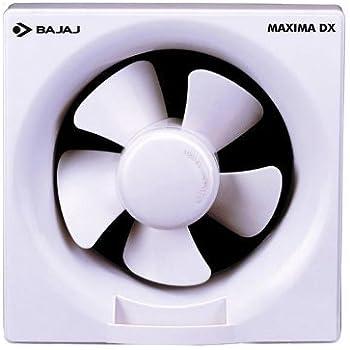 Bajaj Maxima 200mm Exhaust Fan,White