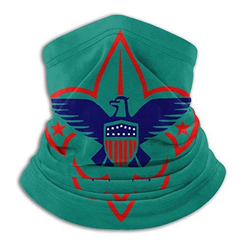 BaoXiaoShou Unisex Scout Emblem Bufanda multifuncional sin costuras para la cara, pañuelo, sombreros a prueba de viento cálido