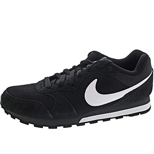 Nike MD Runner 2, Zapatillas para Hombre, Black/White Anthracite, 44 EU