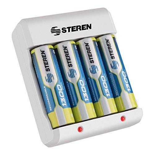 cargador baterias aa fabricante STEREN