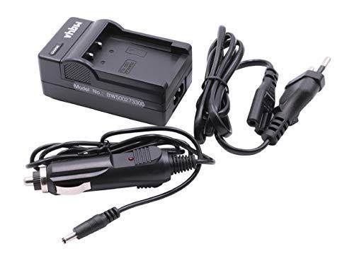 vhbw Cargador batería Compatible con Casio Exilim EX-S20, EX-S23, EX-S3, EX-Z3, EX-Z4, EX-Z5 baterías cámaras, videocámaras, DSLR -Soporte Carga