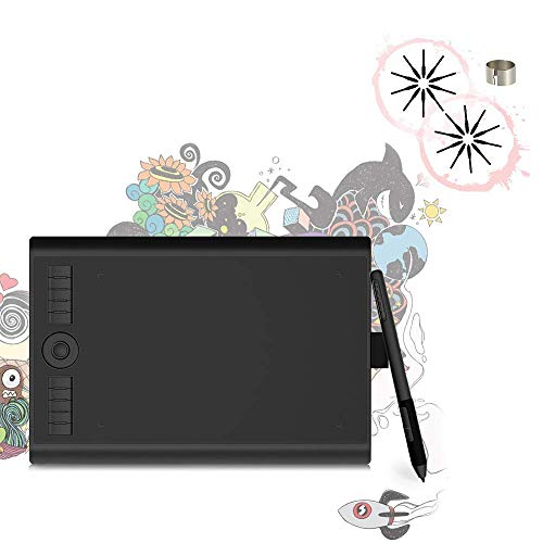 GAOMON M10K PRO Drawing Tablet & Nibs for Passive Pen AP32