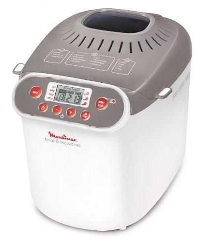 Moulinex OW3501 - Panificadora (Beige, Color blanco, 700 W, 700 W)