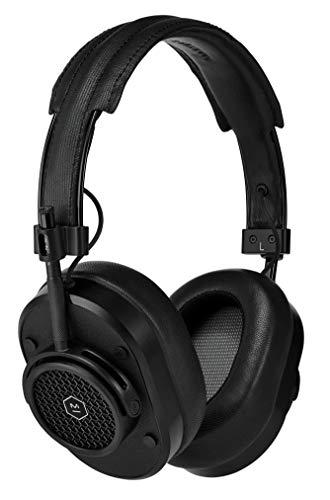 Cuffie over the ear wireless MH40, cuffie con microfono senza fili confortevoli - Nero/Nero