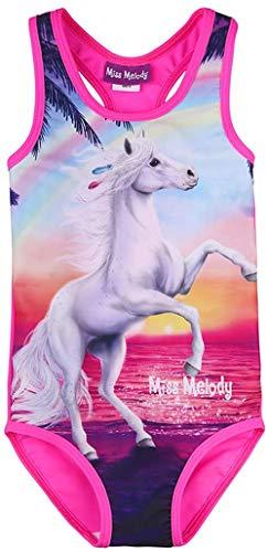 Miss Melody Mädchen Badeanzug Pferd 88818 (152)