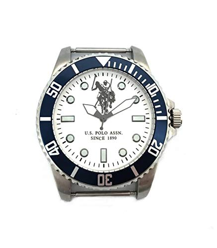 U.S. Polo Assn. Reloj Analog-Digital para Mens de Automatic con Correa en Cloth S0320118