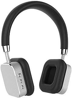 ZGYQGOO 4.0 Auriculares Bluetooth Inalámbricos Elásticos Auriculares Estéreo Integrado Micrófono Reducción de Ruido Manos Libres Llamada Apoyo Punto a Punto Conexión, Oro, Dorado