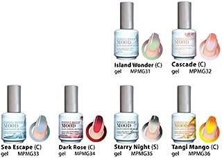 Perfect Match Mood Changing Gel Nail Polish 6 Colors Set (MG31 - MG36)