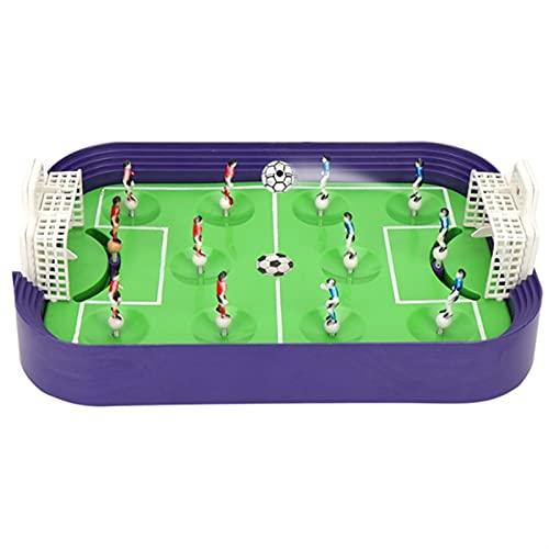 Juego De FúTbol De Mesa New-Mini Mesa Soccer Set Sports Toy Football Game Desktop Fútbol Modelo Modelo Niños ( Color : AS PIC )