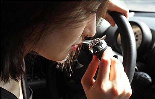 Best Car Air Freshener Air Vent Clip Perfume Diffuser Fragrance Aroma Scent (black)
