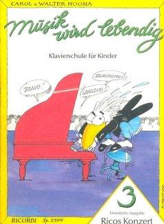 RICOS KONZERT 3 - arrangiert für Klavier [Noten / Sheetmusic] Komponist: NOONA CAROL + WALTER