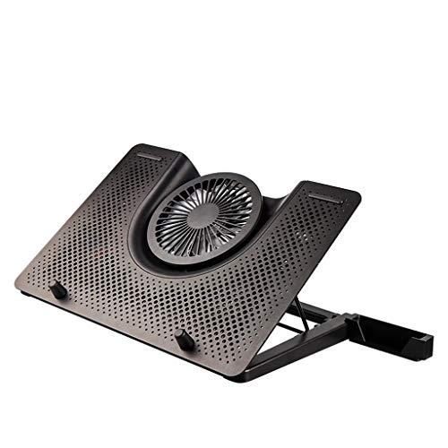 LF winkels-Koeling Pads Notebook Koeler 12-17 Inch Base USB Laptop Beugel Ventilator Aluminium Vouwen Computer Radiator