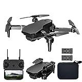 XIAOKEKE Drone Plegable WiFi con Cámara UAV 4K HD para Adultos, FPV 120 ° Gran Angular para Principiantes, Modo Sin Cabeza, Despegue/Aterrizaje con Un Clic, Waypoints, Etc (2 Baterías)