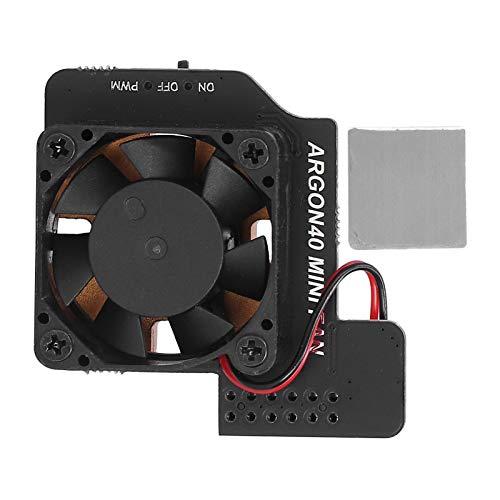 Módulo de ventilador de refrigeración, ventilador de refrigeración de 30x30 mm, ventilador de refrigeración automático en modo PWM portátil para Raspberry Pi 4B / 3B + / 3B